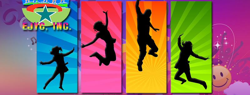 Kids Dancing Graphic